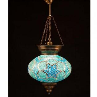 Lámpara Turca KolyeIII34 (turquesa)