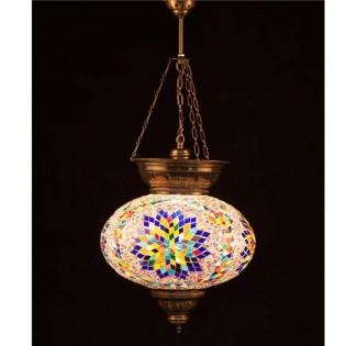 Lámpara Turca KolyeIII34 (multicolor)