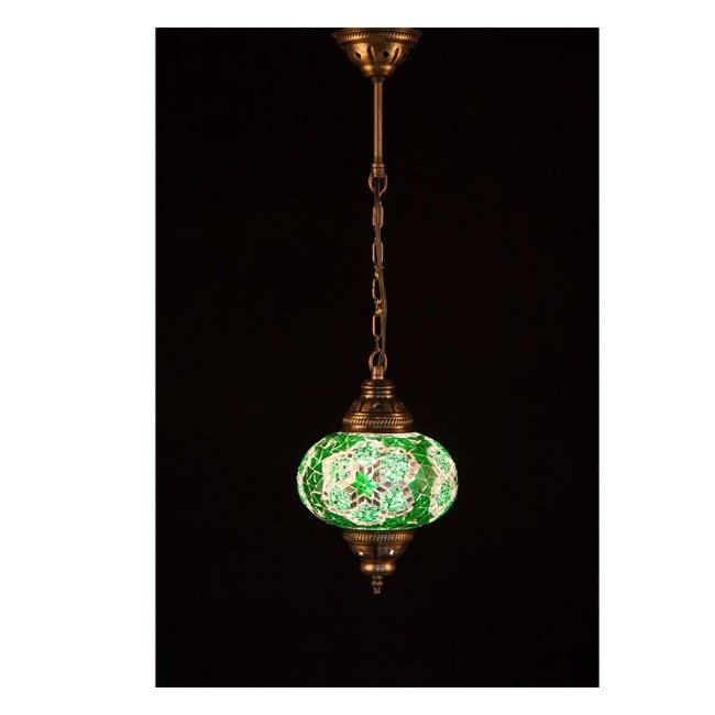 Lámpara Turca KolyeI55 (verde)