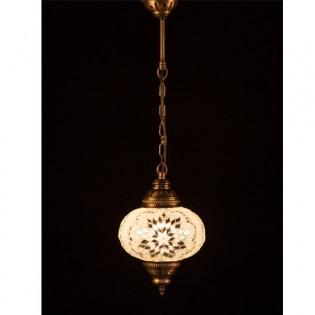 Lámpara Turca KolyeI55 (blanco)