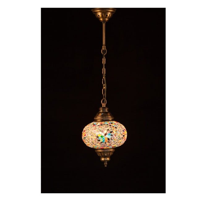 Lámpara Turca KolyeI55 (multicolor)