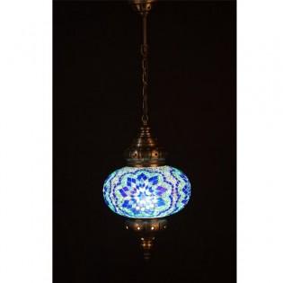 Lámpara Turca KolyeI70 (azul)