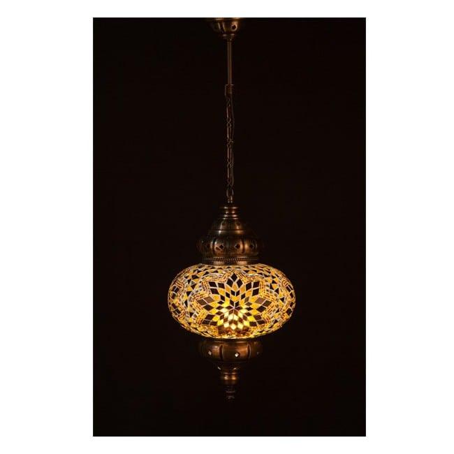 Lámpara Turca KolyeI70 (amarillo)