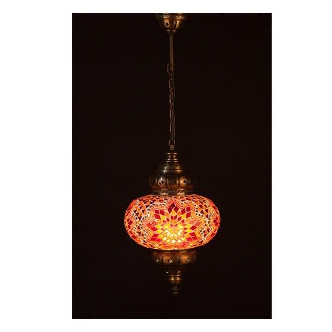 Lámpara Turca KolyeI70 (naranja)