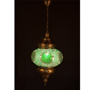 Lámpara Turca KolyeI90 (verde)