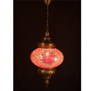 Lámpara Turca KolyeI90 (rojo)