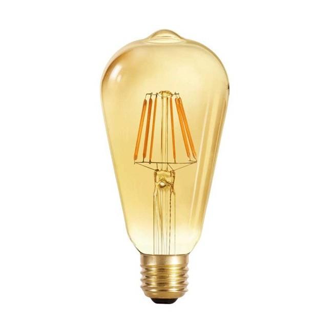 Bombilla LED Edison caramelo (6W-cálida)