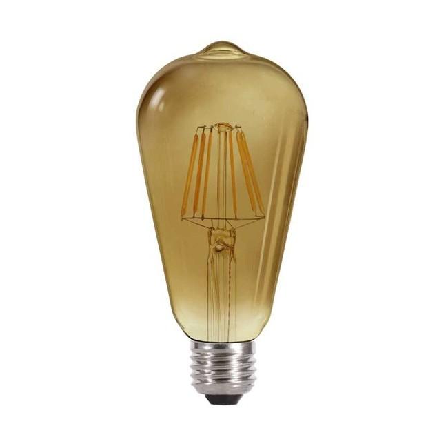 Bombilla LED Edison Fumé (4W-cálida)