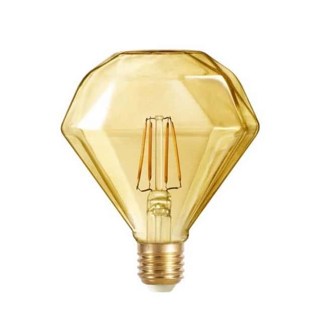 Bombilla LED Edison caramelo (4W-cálida)