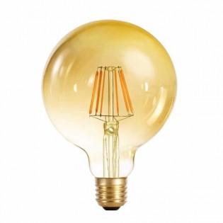 Bombilla LED globo 95 caramelo (6W-cálida)