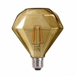 Bombilla LED Diamante Fumé (6W-neutra)