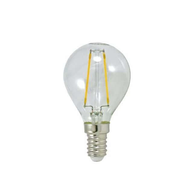 Bombilla LED Esfera Clara (3.5W-E27)