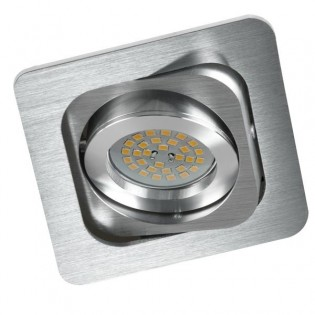 Foco empotrable CLASSIC Doble aluminio.