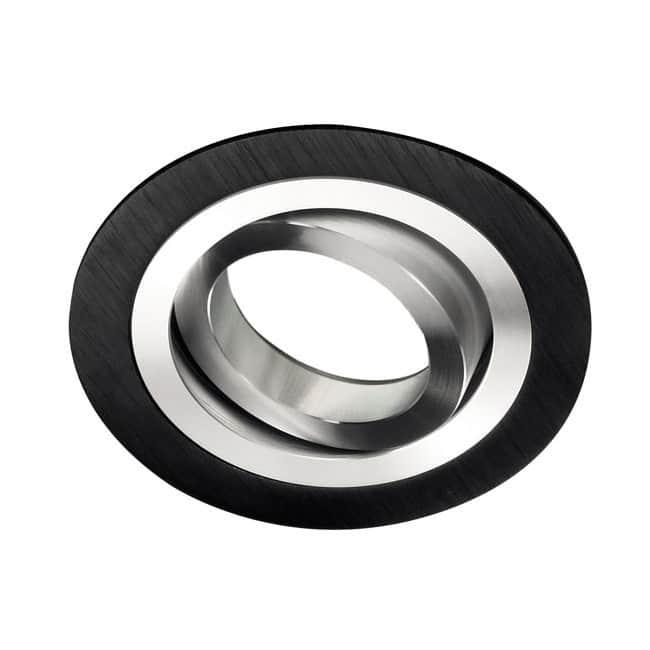 Foco empotrable CLASSIC redondo negro - GU10