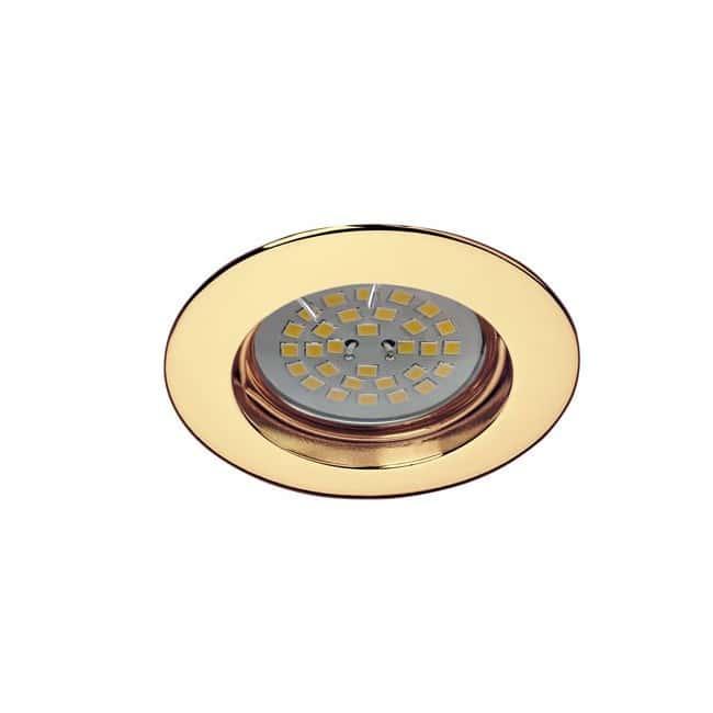 Kit BASIC redondo fijo oro. Wonderlamp
