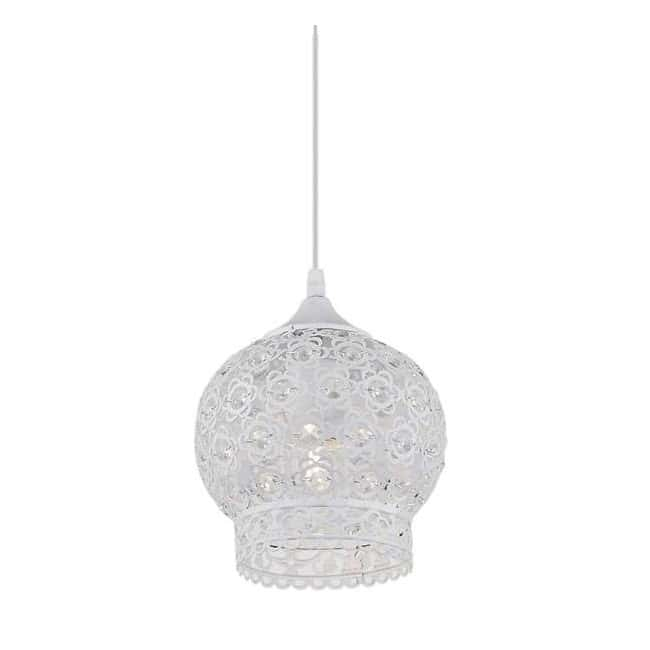 Lámpara árabe NADOR blanco