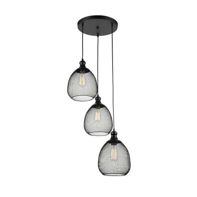 Lámpara de techo Grille (3 luces)