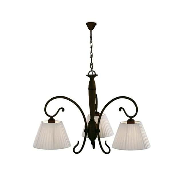 Lámpara colgante Anna (3 luces)