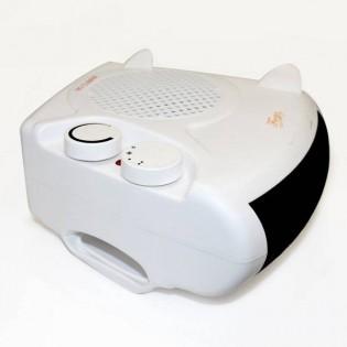 Calefactor eléctrico y ventilador (2 potencias).