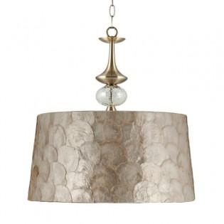 Lámpara colgante Carmen nácar (50 cm)