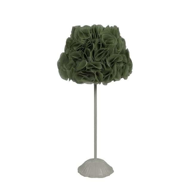Lámpara sobremesa Pétalos verde