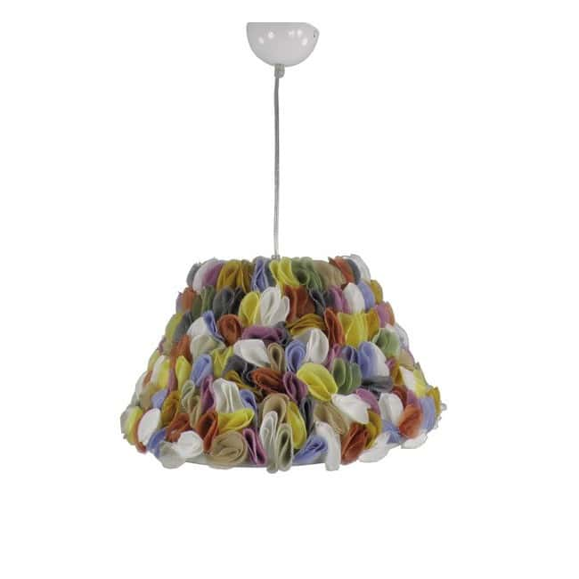 Lámpara techo Pétalos Multicolor
