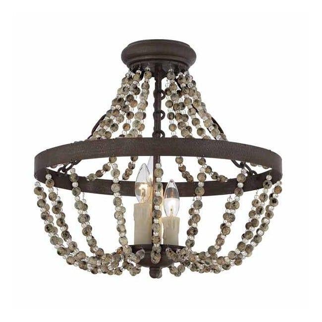 Lámpara de techo Mallory (3 luces)