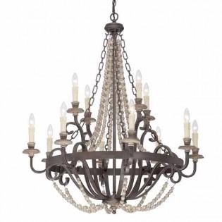 Lámpara de araña Mallory (12 luces)