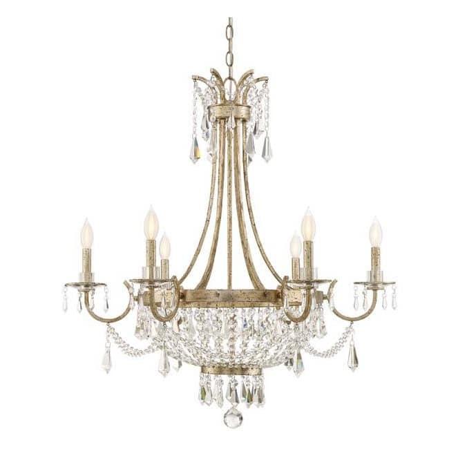 Lámpara de araña Claiborne (6 luces)