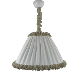 Lámpara colgante lino MARTINA