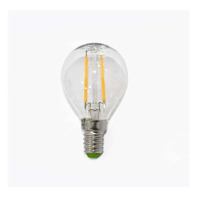 Bombilla esférica LED (2W). Luz cálida (2000ºK).
