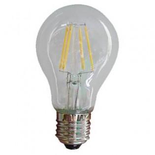 Bombilla esférica LED (4W). Luz cálida (2000ºK).