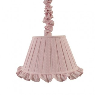 Lámpara colgante lino ALBA Bebe
