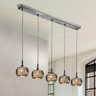 Lámpara de techo LED Arian (30 W) (5 luces)