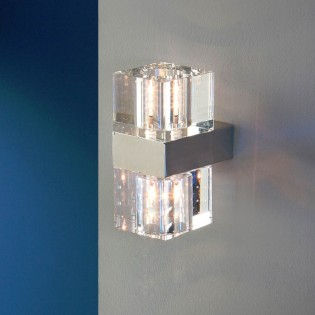 Aplique de pared LED Cubic (8W)