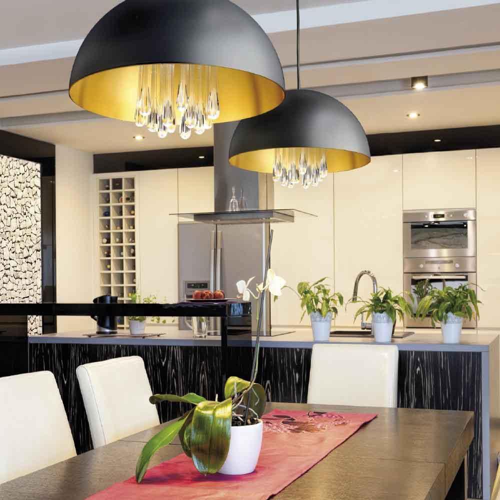 Lámpara colgante LED Medusa (11W). Milán Iluminación - Lamparas.es
