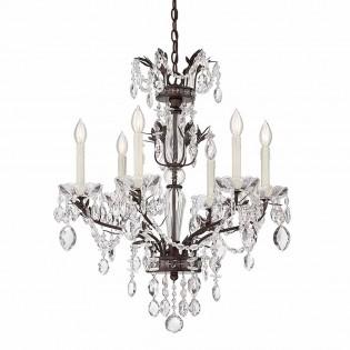 Lámpara de araña Sheraton (6 luces)