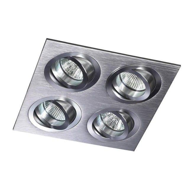 Kit Helium cuadrado aluminio (4 luces)