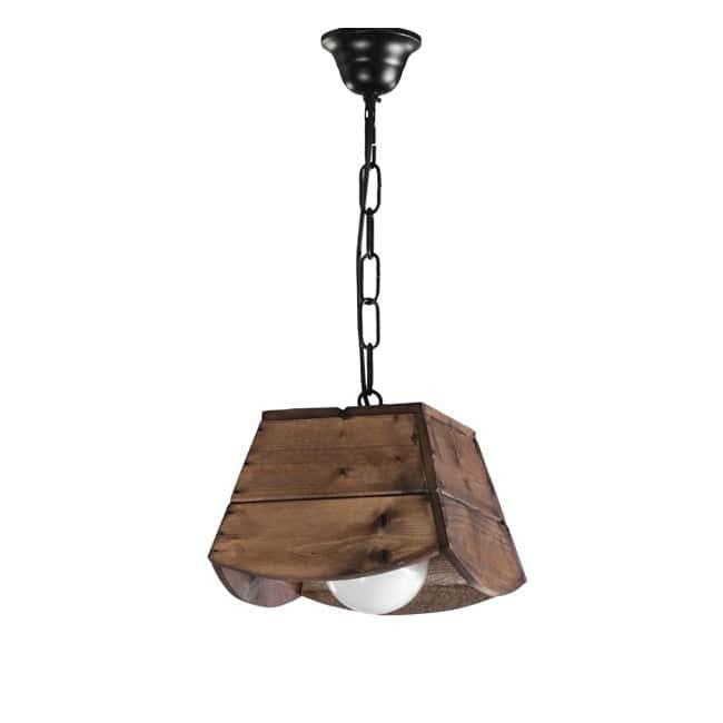 Lámpara rústica Bolin