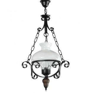 Lámpara rústica Candle