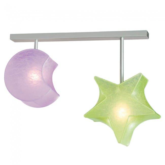 Regleta Estrella y Luna (2 luces)