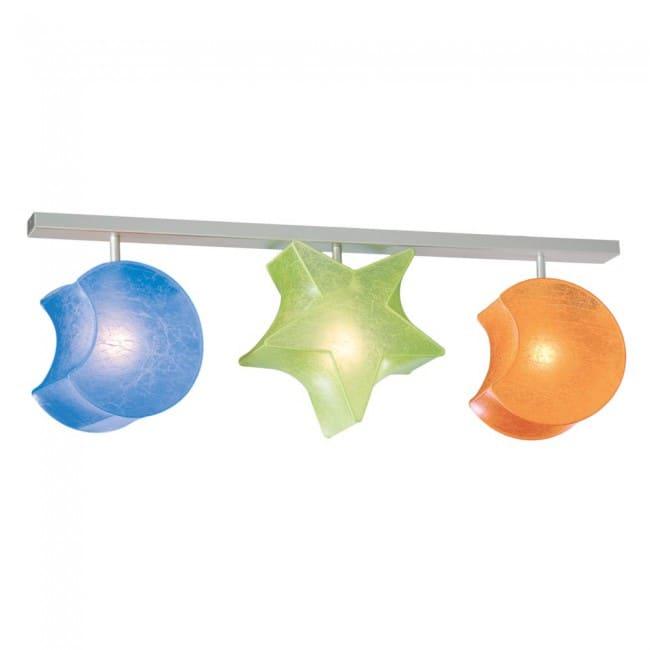 Regleta Estrella y Lunas (3 luces)
