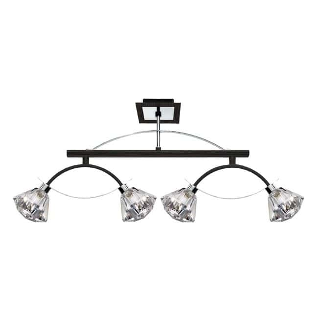 Plafón de techo LUX (4 luces)