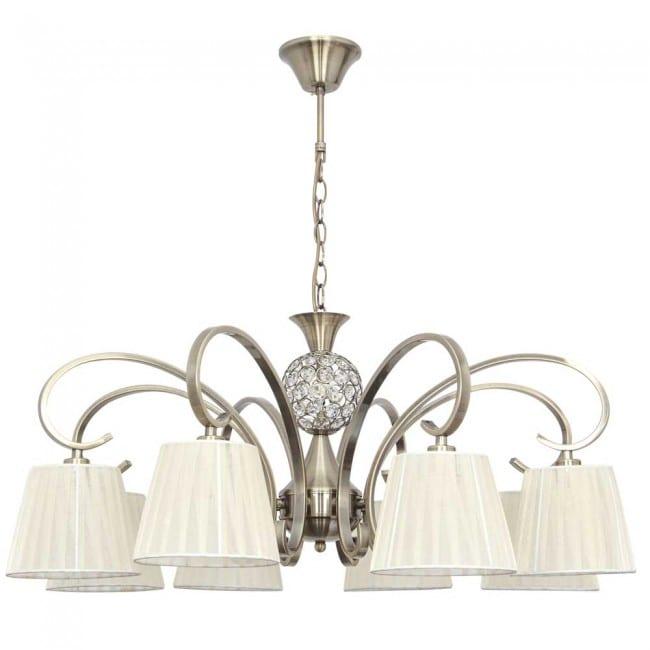 Lámpara de arana Panama (8 luces)