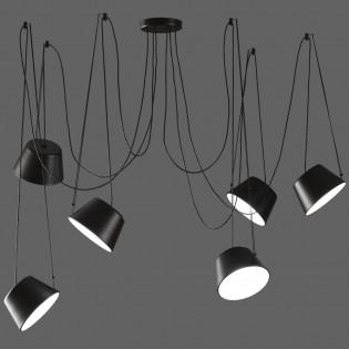 Lámpara colgante Sento (6 luces)