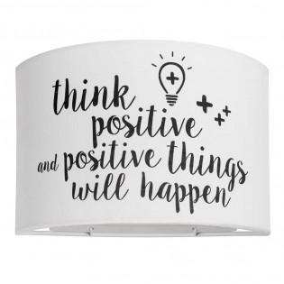 Aplique Think Positive