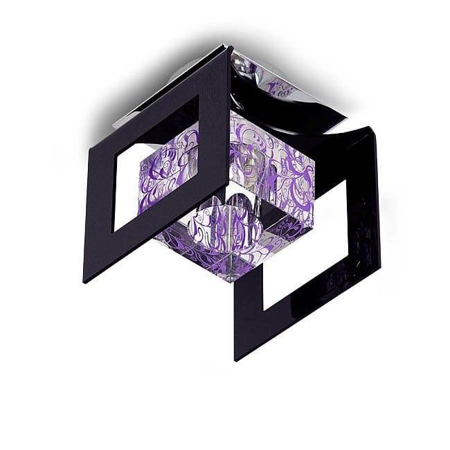 Plafón cristal óptico CRISTAL