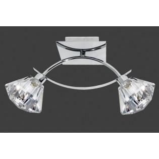 Plafón de techo LUX (2 luces)