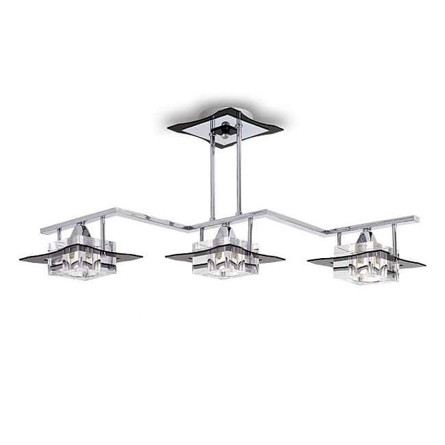 Lámpara de techo Zig Zag CUBO (3 luces)