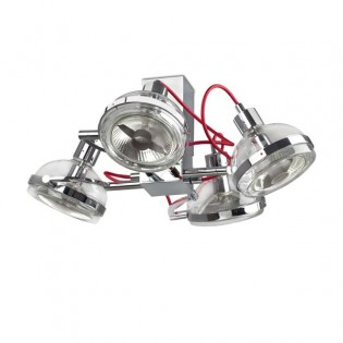 Plafón de diseño GLOP (4 luces)